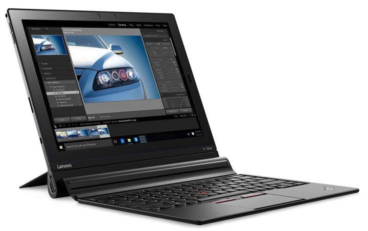 photo Lenovo ThinkPad X1 Tablet PC portable hybride