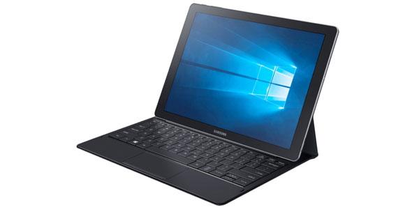 photo PC portable laptop hybride tablette Samsung Galaxy TabPro S Windows 10