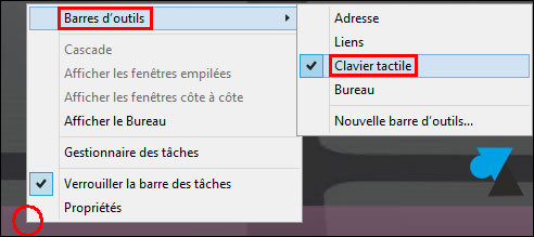 tutoriel Windows 8.1 activer clavier visuel virtuel