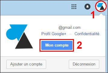tutoriel Google Mail Gmail compte