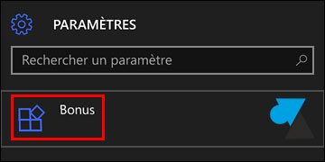 tutoriel smartphone Windows 10 Mobile parametres bonus
