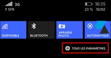 tutoriel notifications parametres smartphone Windows Phone 8