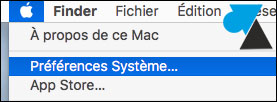 macOS Mac OS X preferences systeme