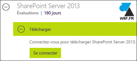 tutoriel telecharger ISO Microsoft SharePoint Server 2013