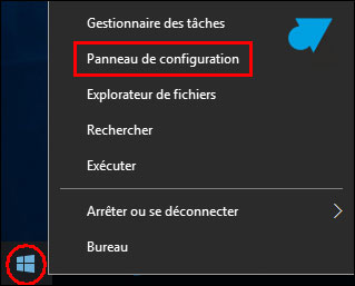tutoriel Windows 10 Panneau de configuration