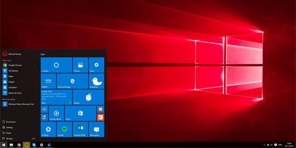 Télécharger Windows 10 Redstone Preview 14295