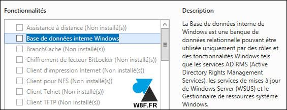 tutoriel supprimer desinstaller WSUS Windows Server Update Services