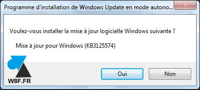 tutoriel installation Windows 7 Service Pack 2 W7 SP2 rollup KB3125574