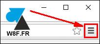 tutoriel navigateur Google Chrome parametres trois 3 barres