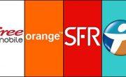 Couverture réseau mobile 3G / 4G en France