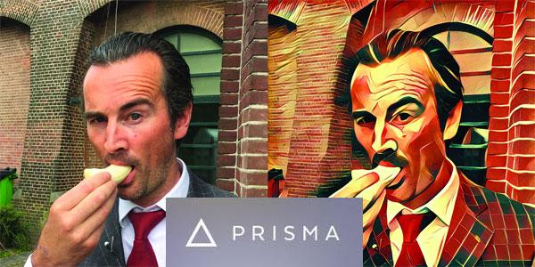 application retouche photo peinture tableau Prisma Android iPhone