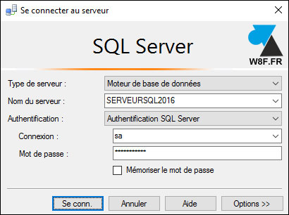 tutoriel SQL Server Management Studio 2016