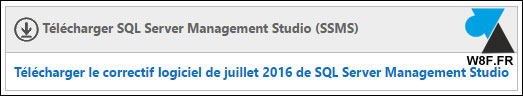 tutoriel telecharger SQL Server Management Studio 2016