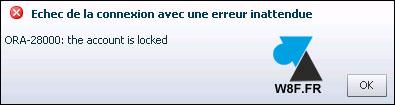 tutoriel Oracle 12c compte utilisateur expiré locked