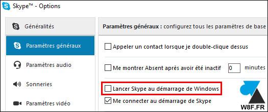 tutoriel Skype autorun