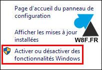 tutoriel Windows 10 ajouter fonctionnalite