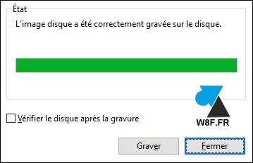 tutoriel Windows 10 graver ISO fichier