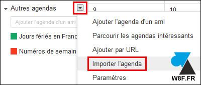 tutoriel importer exporter sauvegarder transferer calendrier agenda iPhone Apple Google Gmail Android