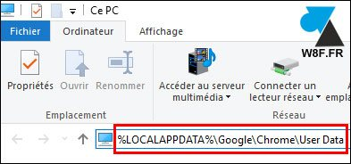 tutoriel sauvegarder profil utilisateur navigateur Google Chrome