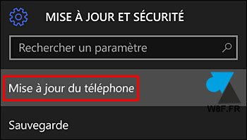 tutoriel Windows 10 Mobile mise à jour update