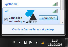 tutoriel Windows 7 se connecter à un réseau wifi sans fil