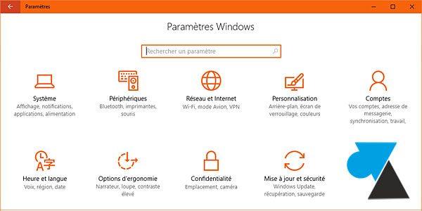 Windows 10 : changer la couleur du thème et du menu Démarrer