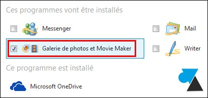 tutoriel installer logiciel Movie Maker Windows 10