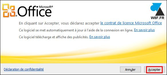 tutoriel installer pack Office gratuit Windows 10