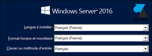 tutoriel installer Windows Server 2016