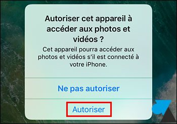 tutoriel copier sauvegarder photos videos iPhone iPad