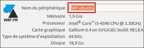 tutoriel Ubuntu changer nom ordinateur hostname hosts