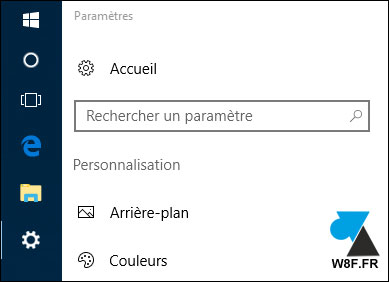 tutoriel Windows 10 deplacer barre des taches menu Demarrer