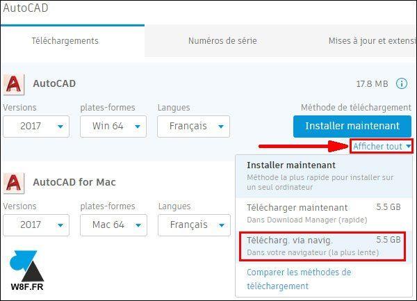 tutoriel telecharger installer Autodesk AutoCAD