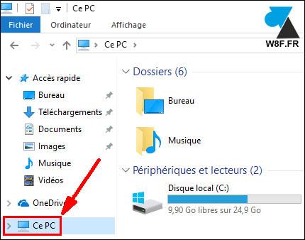 tutoriel Windows 10 Ce PC ordinateur Poste de travail