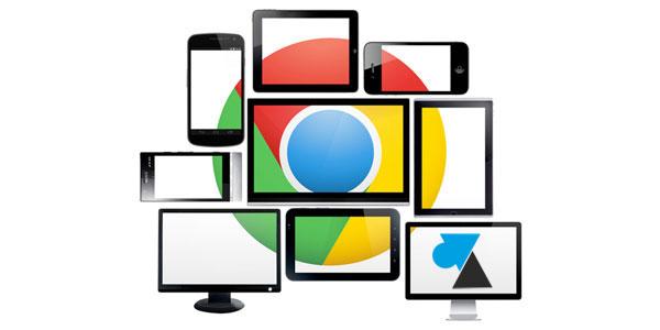 tutoriel WF Google Chrome navigateur internet
