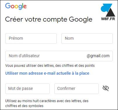 tutoriel creer gmail compte boite