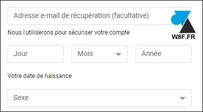 tutoriel création gmail boite google asv