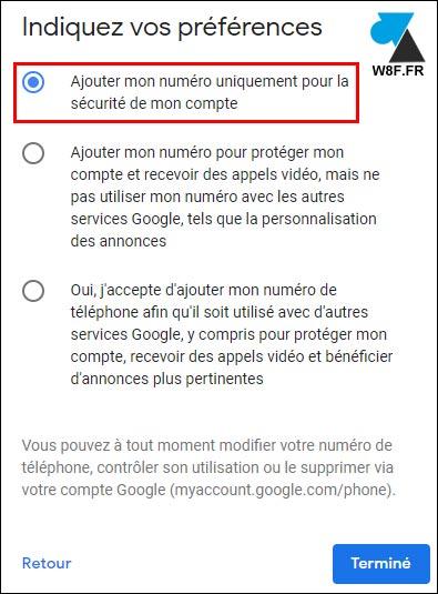 tutoriel création gmail boite google numero telephone