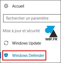 tutoriel Windows Defender antivrus gratuit
