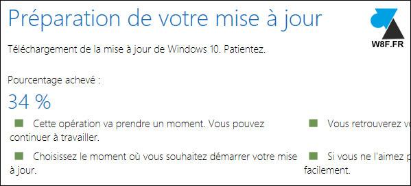 tutoriel telecharger installer mise à jour Windows 10 Creators Update 1703 CU