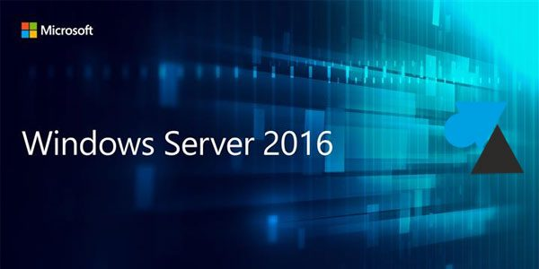 Windows Server 2016 : installer l'outil de sauvegarde