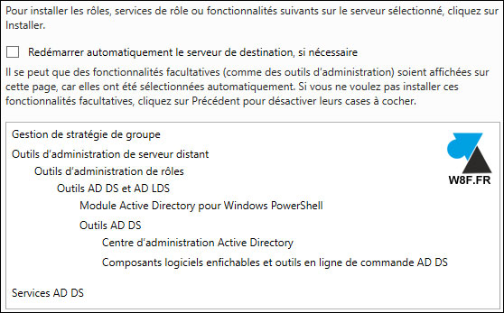 tutoriel installer Windows Server 2016 Active Directory WS2016 AD DS