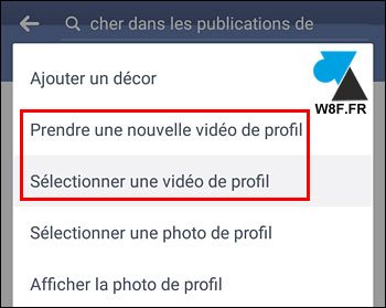 tutoriel video de profil Facebook Android iPhone