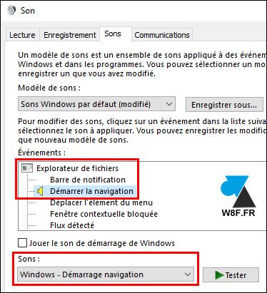 tutoriel configurer son audio Windows 10