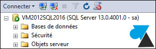 numero version build SQL Server