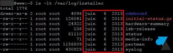 ubuntu date installation systeme linux