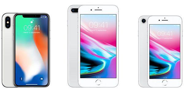 Présentation iPhone 8 / Plus et iPhone X