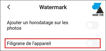 tutoriel supprimer watermark photo xiaomi mi redmi note