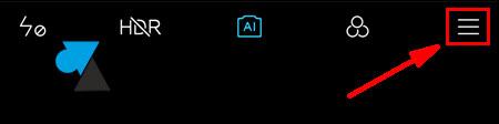 tutoriel smartphone Xiaomi Mi parametres appareil photo