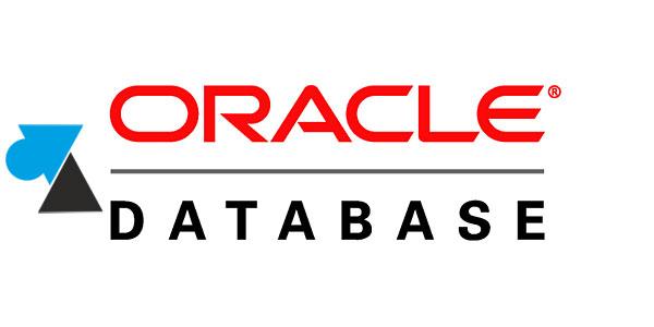 tutoriel serveur Oracle 9i 10g 11g 12c database WF